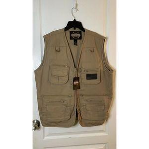 Guide Gear Concealment Vest Color Tan Size XL NWT